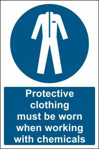 Protective Clothing when Working with Chemicals