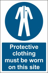 Protective Clothing must be Worn on this Site