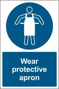 Wear Protective Apron