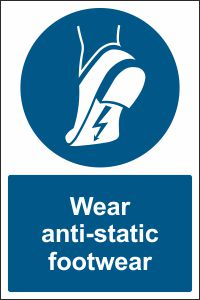Wear Anti-static Footwear