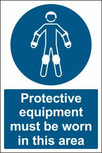 Protective Equipment must be Worn in this Area