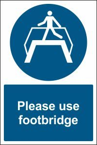 Please Use Footbridge