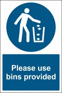 Please Use Bins Provided
