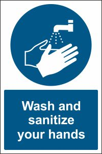 Wash and Sanitize Your Hands