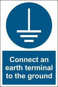 Connect an Earth Terminal to the Ground
