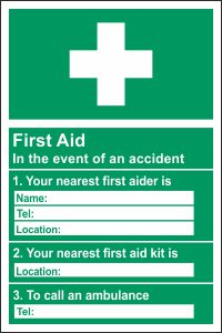 First Aid Information