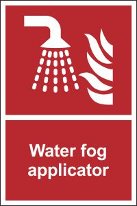 Water Fog Applicator