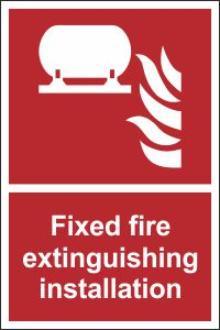 Fixed Fire Extinguishing Installation