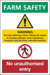 Farm Safety Notice 1