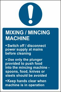 Mixing/Mincing Machine