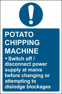 Potato Chipping Machine