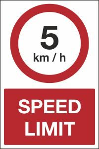 5kmh Forklift Speed Limit