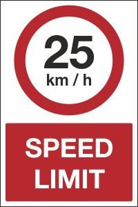 25kmh Speed Limit
