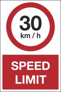 30kmh Speed Limit