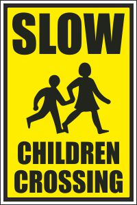 Slow - Children Crossing