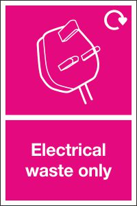 Electrical Waste Only