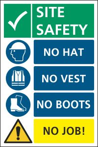 No Hat, No Boots, No Vest, No Job