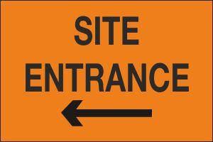 Site Entrance Left