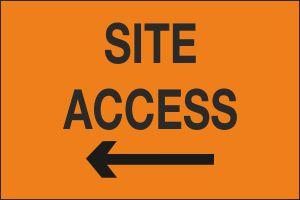 Site Access Left