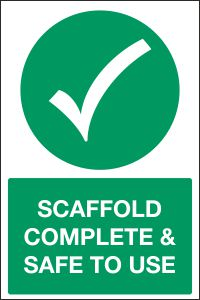 Scaffold Complete & Safe to Use