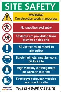 Site Safety Notice 2