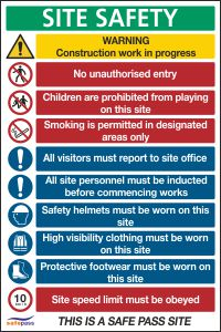 Site Safety Notice 3