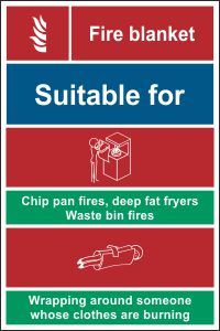 Fire Blanket Tag