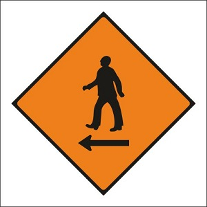 Pedestrians Cross to Left - WK080