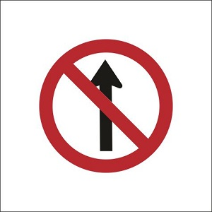 No Straight Ahead - RUS011