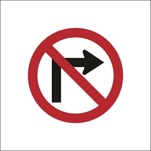 No Right Turn - RUS012