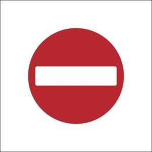 No Entry - RUS050