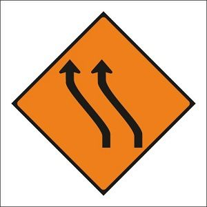 Move to Left (Two Lanes)