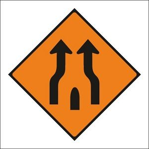 End of Obstruction Between Lanes