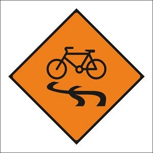 Slippery for Cyclists