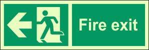 Fire Exit W