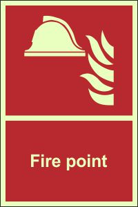Photoluminescent Fire Point