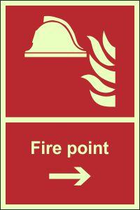 Photoluminescent - Fire Point - Right