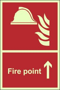 Photoluminescent - Fire Point - Straight