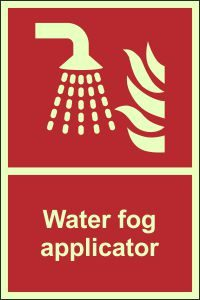 Photoluminescent - Water Fog Applicator