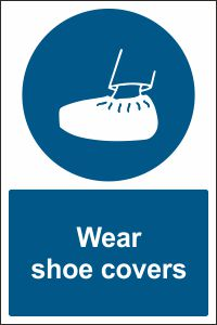 Wear shoe covers