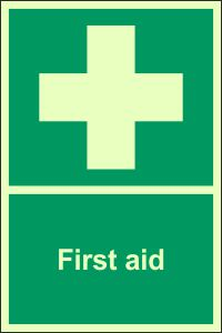 Photoluminescent - First Aid