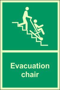 Photoluminescent - Evacuation Chair