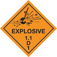 Explosive 1.1 D