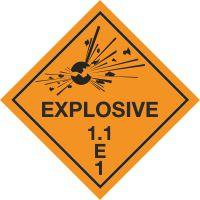 Explosive 1.1 E