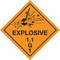 Explosive 1.1 G