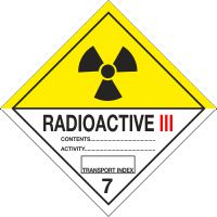 Radioactive Class III
