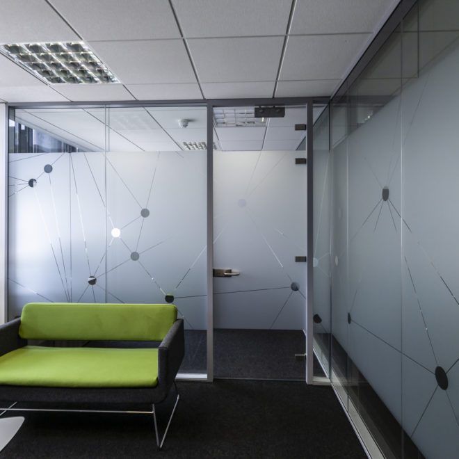 window and glass graphics - frosted glass vinyl
