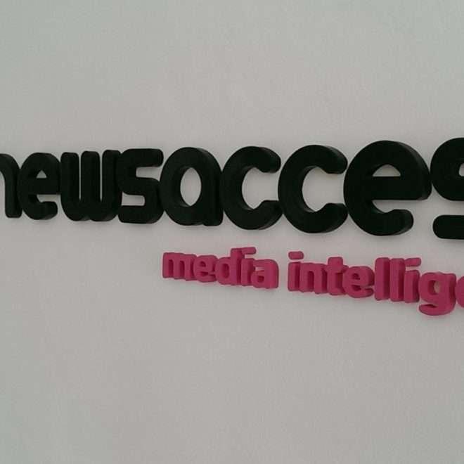 internal 3d lettering - newsaccess