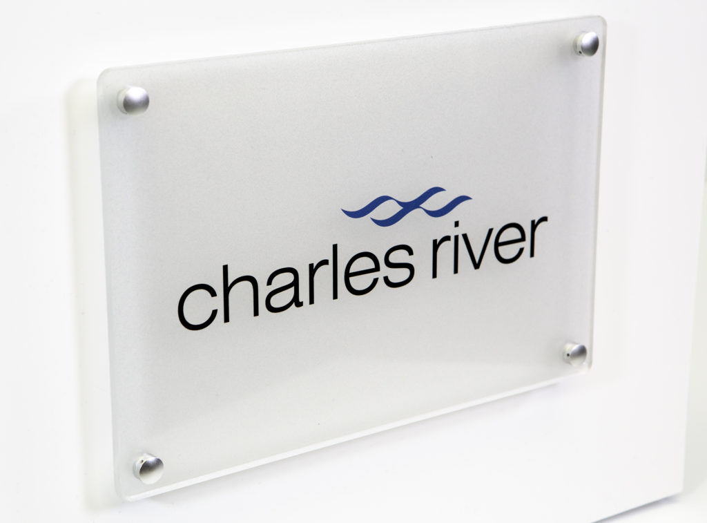 plaques - acrylic - charles river