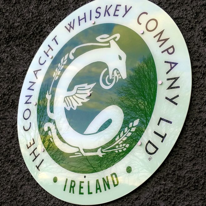 plaques - acrylic - connacht whiskey